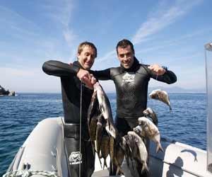chasse sous marine cap corse